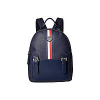 Рюкзак Tommy Hilfiger Imogen Pebble PVC Backpack Navy - Оригинал