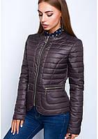 Куртка жіноча №32 (шоколад)