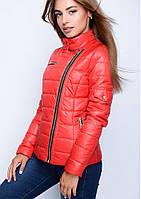Куртка женская №35 (красный)