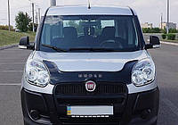Дефлектор капота  Fiat Doblo с 2010, Мухобойка Fiat Doblo