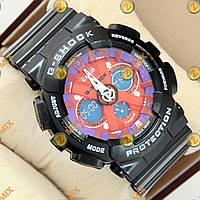 Часы G-Shock GA-120 Black-Purple-Red