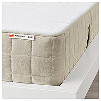 IKEA MAUSUND (903.727.22) Матрас из натурального латекса, средней ПЛОТНОСТИ , натуральный, 160x200