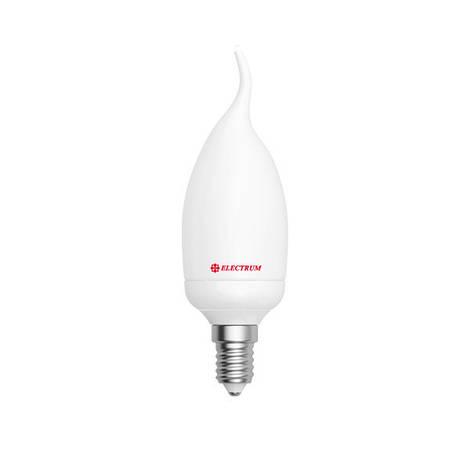 LED лампа E14 Electrum свеча на ветру 4W(350Lm) 4000K PA LC-5 алюмопласт. корп.