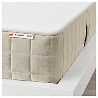 IKEA MAUSUND (303.727.20) Матрас из натурального латекса, средней плотности, натуральный, 140x200 см