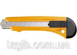 Нож SPARTA 18 мм выдвижное лезвие, металлическая направляющая