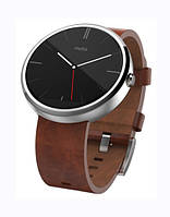 Motorola Moto 360 Cognac Leather
