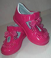 Туфли лаковые на липучке Dom.m р.21-23