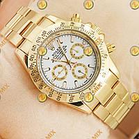 Механические часы Rolex Daytona Gold/White