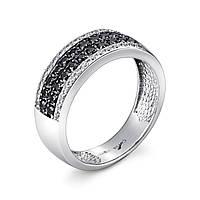 Серебряное кольцо дорожка джульетта с фианитами    из родированного серебра 925-й пробы с куб. циркониями (1 457 ) 16