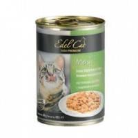 Edel Cat Нежные кусочки в соусе с индейкой и печенью, 400г