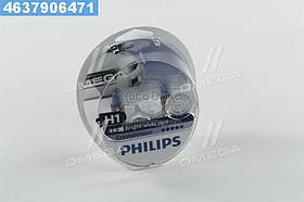 ⭐⭐⭐⭐⭐ Лампа накаливания H1 12V 55W P14,5s Cristal Vision + 2x W5W 4300K (производство  Philips)  12258CVS2