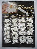Типсы для наращивания Knail №KP-604