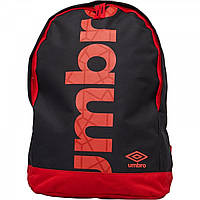 Рюкзак Umbro Commodus Liner Logo Backpack Black Black - Оригинал