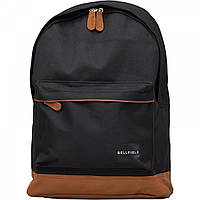 Рюкзак Bellfield Backpack Black Black - Оригинал