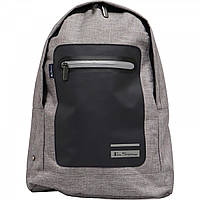 Рюкзак Ben Sherman Panel Dome Backpack Grey Storm Light Grey Marl - Оригинал