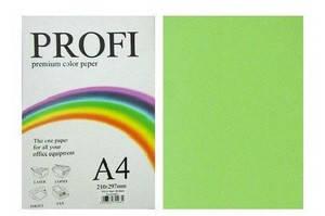 Кольоровий папір PROFI А4/80г 100арк №321 неон зелений