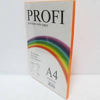 Кольоровий папір PROFI А4/80г 100арк №371неон помаранчевий