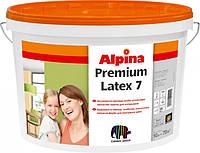 Интерьерная латексная краска Alpina Premiumlatex 7 B1 10л