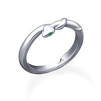 Серебряное кольцо змея с нанокристаллом    из родированного серебра 925-й пробы с нанокристаллом (1 279 ) 14