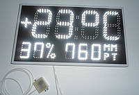 Часы - метеостанция температура давление и относительная влажность