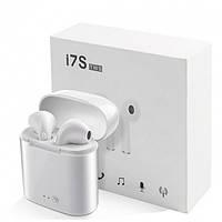 Беспроводные Bluetooth наушники SENOIX I7S-TWS Stereo Белые