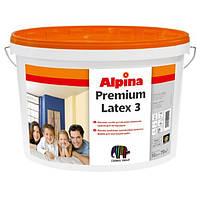 Краска для внутренних работ Alpina Premiumlatex 3 E.L.F.  B1 10л