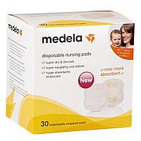 Вкладыш для бюстгальтера Medela Disposable Nursing Pads 30 шт (008.0320), фото 1