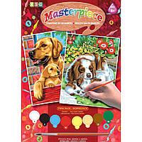 Набор для творчества Sequin Art PAINTING BY NUMBERS JUNIOR-PAIRS Dogs (SA0214)