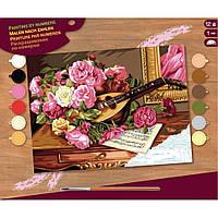 Набор для творчества Sequin Art PAINTING BY NUMBERS SENIOR Romantic Bouquet (SA1037)