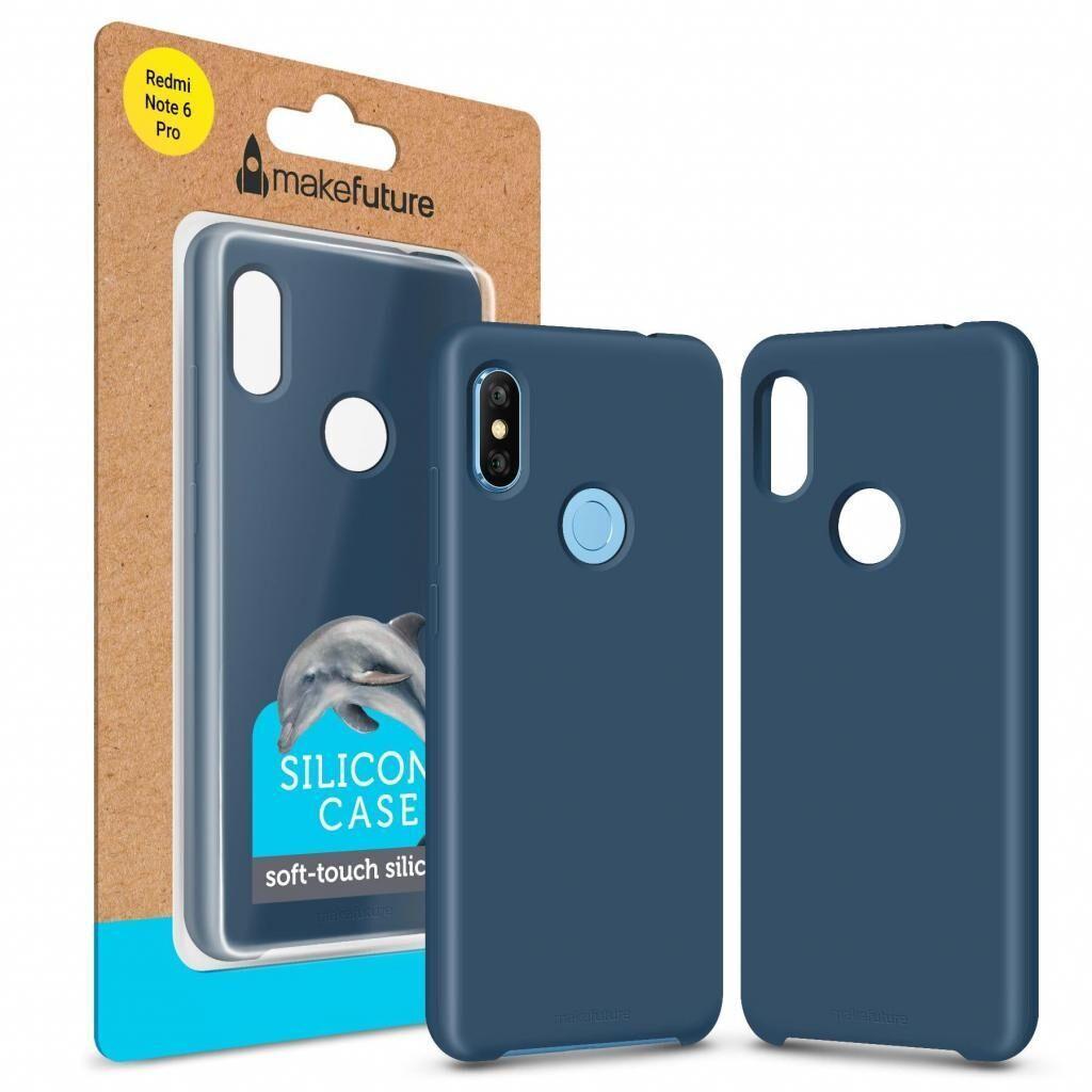 Чехол для моб. телефона MakeFuture Silicone Case Xiaomi Redmi Note 6 Pro Blue (MCS-XRN6PBL)