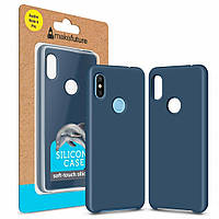 Чехол для моб. телефона MakeFuture Silicone Case Xiaomi Redmi Note 6 Pro Blue (MCS-XRN6PBL), фото 1