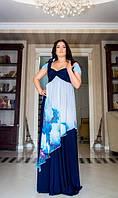 Вечернее платье длиной в пол №703