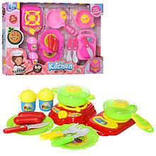 Детский игровой набор Кухня плита, продукты