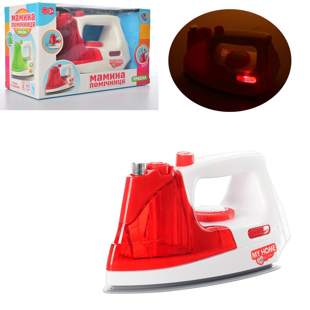 Утюг детский игровой брызг.водой, звук,свет