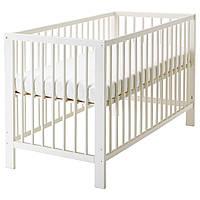 IKEA GULLIVER (102.485.19) Детская кровать, белая, 60x120 см