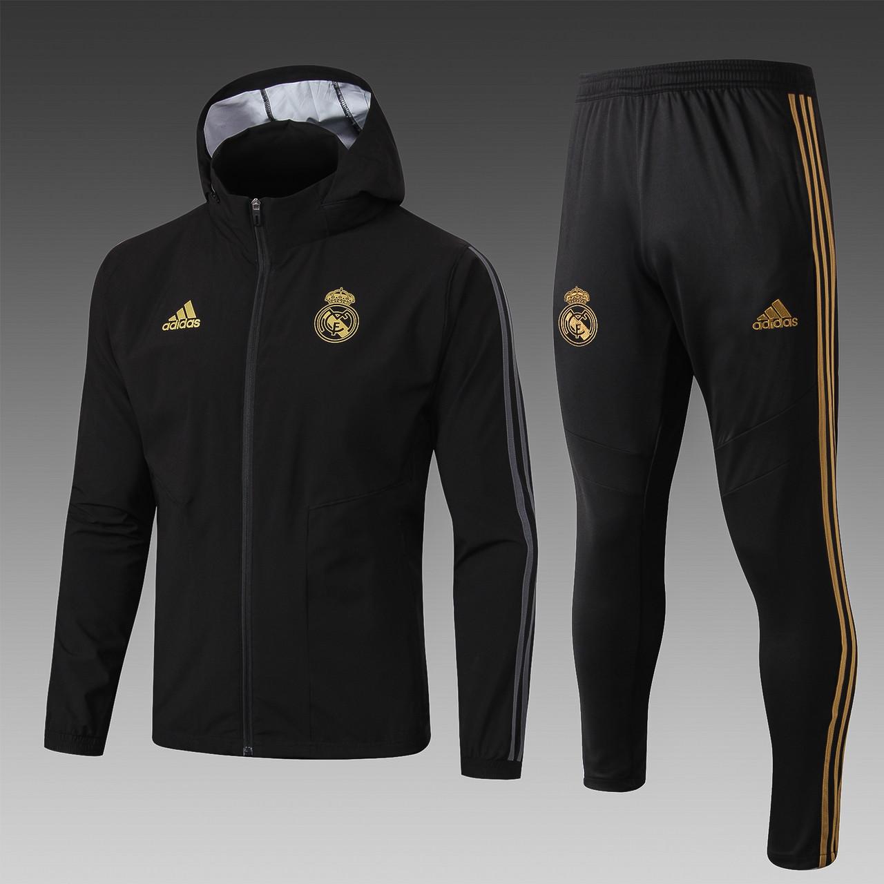 """Спортивный костюм  """"Реал Мадрид """",19-20 (ветровка + штаны)"""