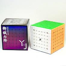 YJ YuFu V2 M 7x7 stickerless. Кубик 7х7 М без наклеек