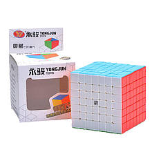 YJ YuFu 7x7 stickerless   Кубик 7х7 колор