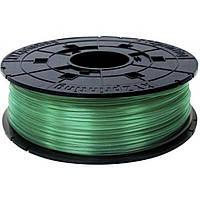 Пластик для 3D-принтера XYZprinting PLA 1.75мм/0.6кг Filament, Clear Green (RFPLBXEU04A)