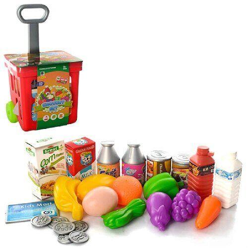Игрушка QUNXING Тележка для покупок с продуктами  (661-92)