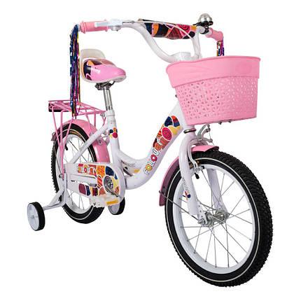 Велосипед SPARK KIDS FOLLOWER сталь TV1601-003, фото 2