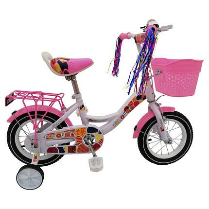 Велосипед SPARK KIDS FOLLOWER сталь TV1801-003, фото 2