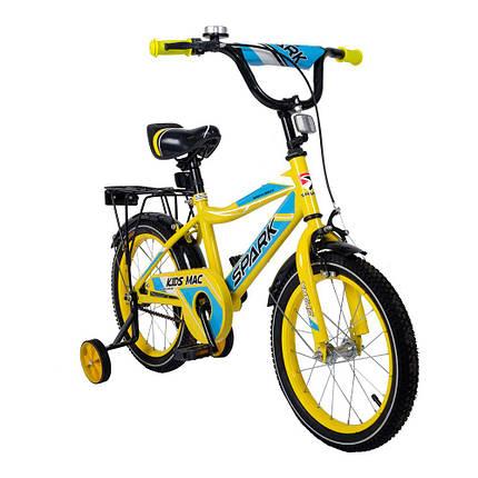 Велосипед SPARK KIDS MAC сталь TV1601-001, фото 2