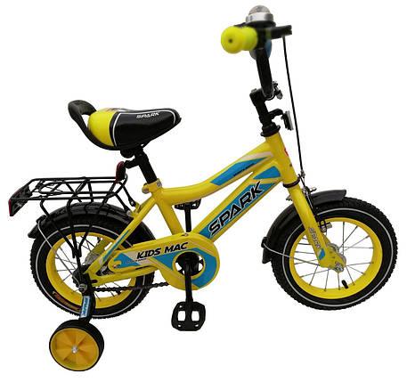 Велосипед SPARK KIDS MAC сталь TV1801-001, фото 2