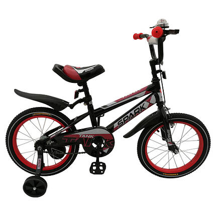 Велосипед SPARK KIDS TANK сталь TV1801-002, фото 2