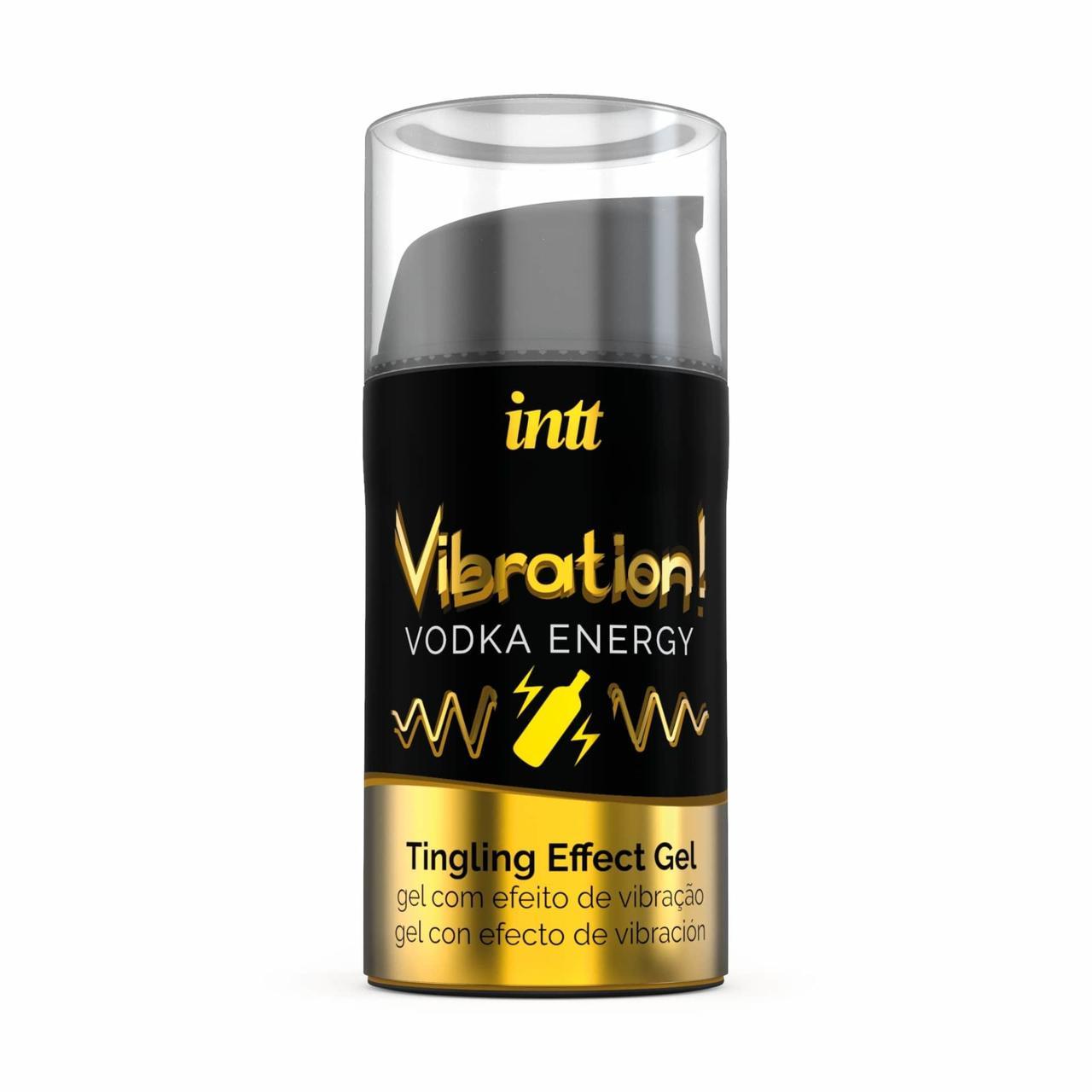 Рідкий вібратор Intt Vibration Vodka (15 мл)