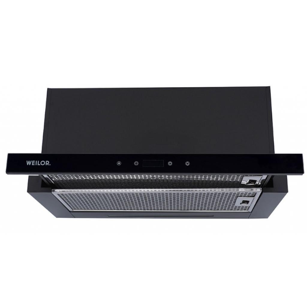 Вытяжка кухонная WEILOR PTS 6230 BL 1000 LED strip