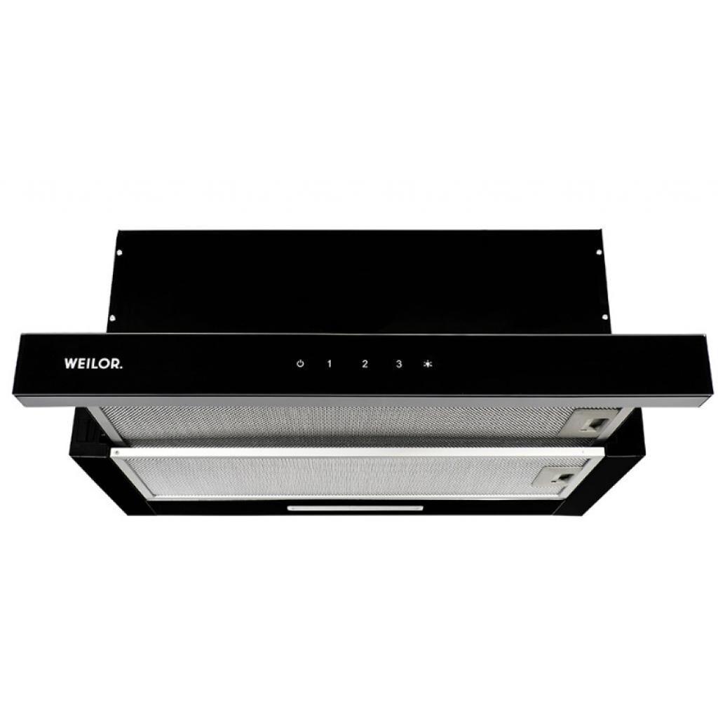 Вытяжка кухонная WEILOR WTS 6280 BL 1200 LED strip