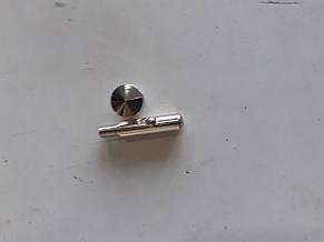 Шток евросетки латунный,хромированный,разборной+шар, фото 2
