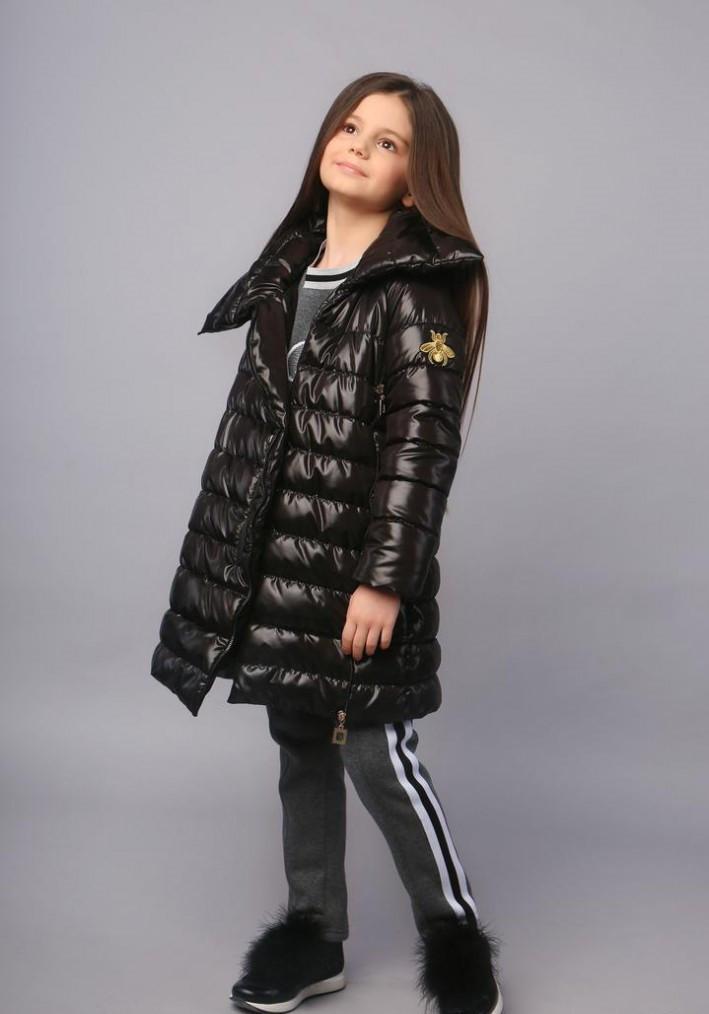 Пальто для девочки тм Моне (еврозима) 122,128,134